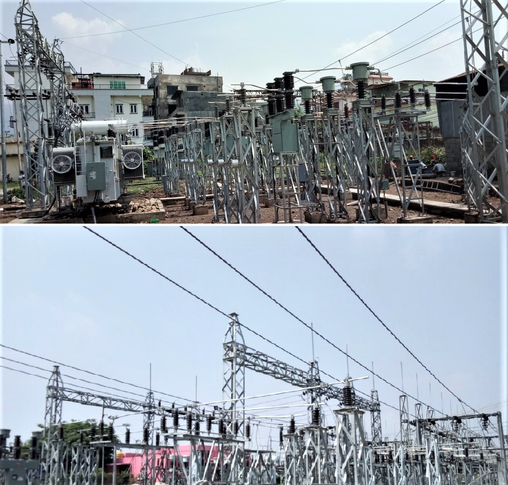 Substation Construction Works