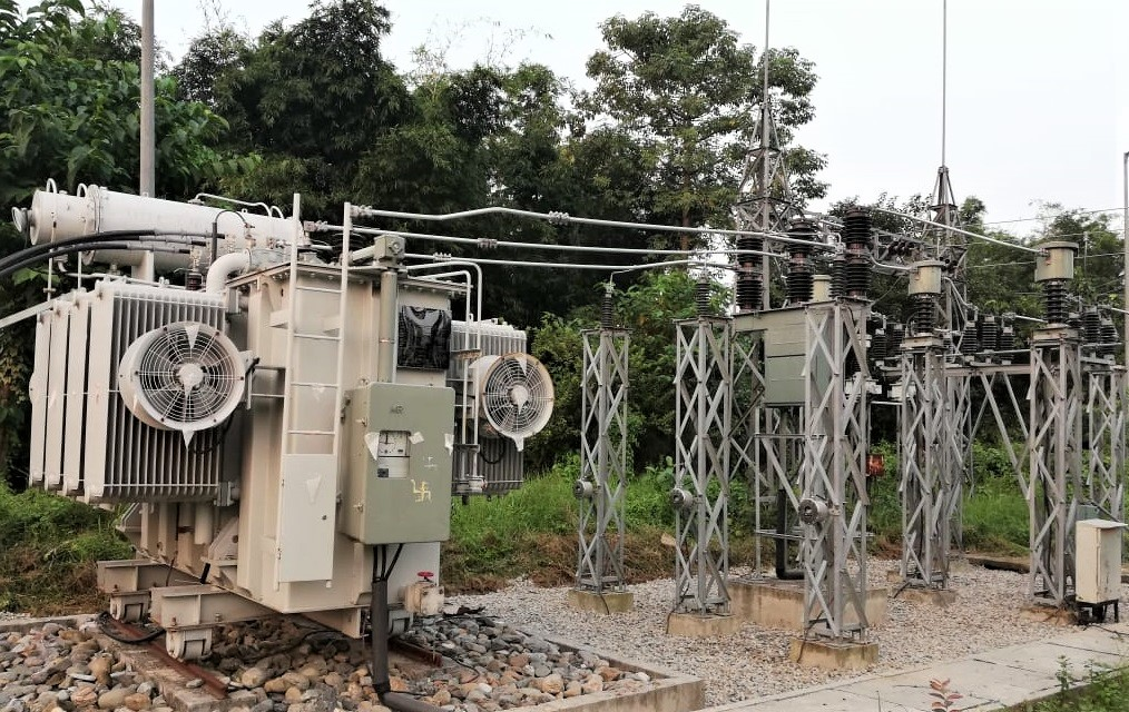 Substation Construction Work