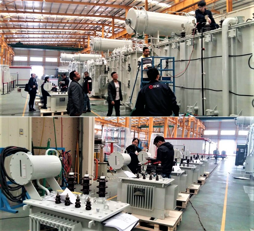 Factory Inspection and Testing of Power and Distribution Transformer