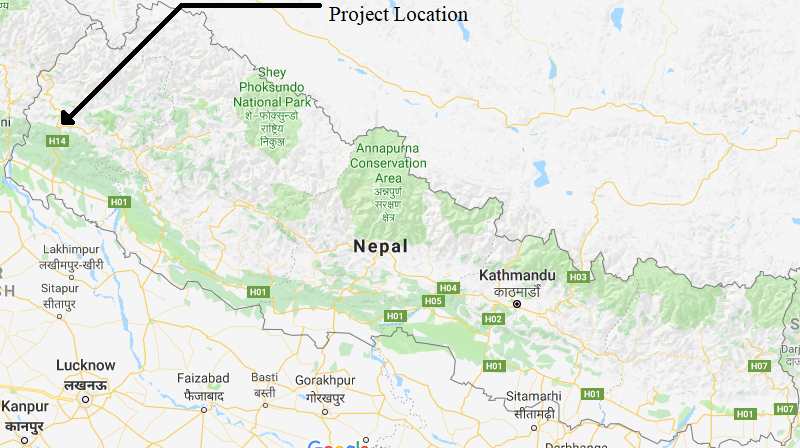 Project Location in Nepal